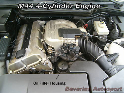 E M Underhood Oil Filter