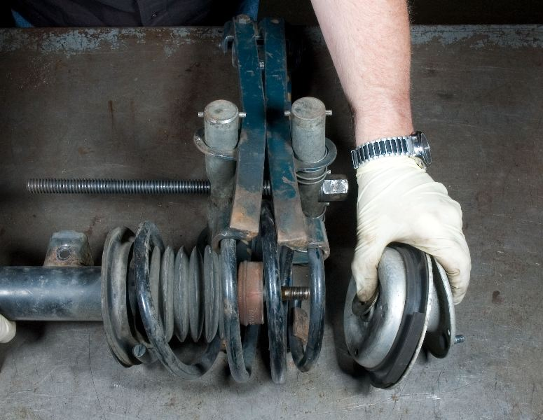 Bmw Shock Strut And Spring Replacement Installation