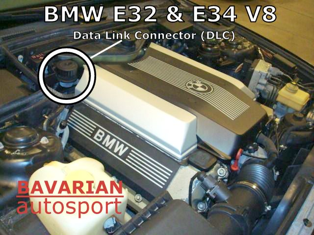 BMW Data Link Connector (DLC) / Diagnostic Plug – E34 540i ...