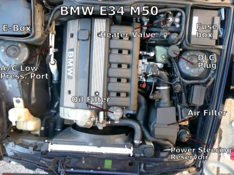 bmw e34 525i check engine light fault codes diagnostic. Black Bedroom Furniture Sets. Home Design Ideas