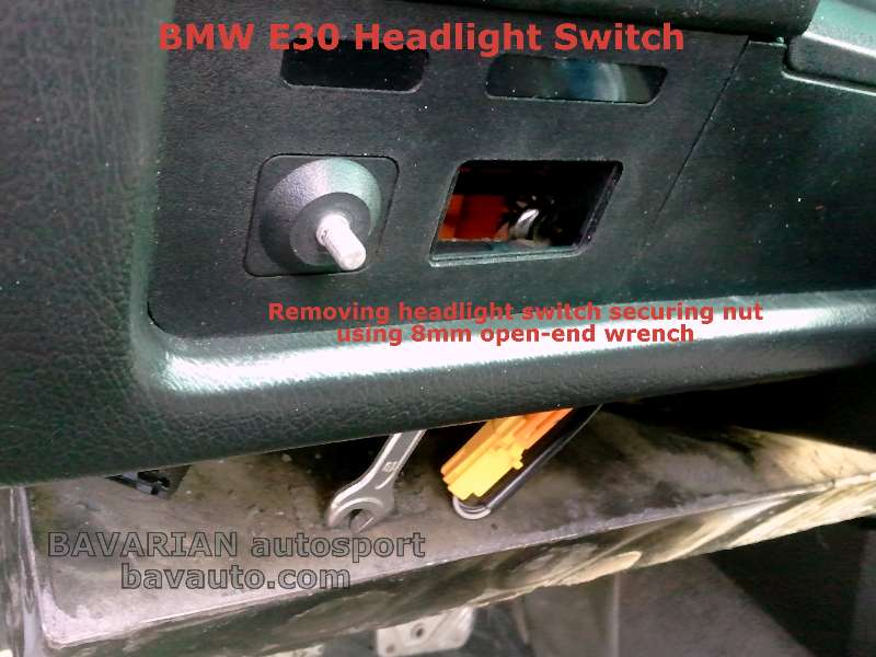 2010 11 02 10.47.071 bmw e30 headlight switch removal diy 325i and others bavarian e30 headlight switch wiring diagram at beritabola.co
