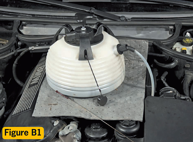 how to get rid of oil refil on e46