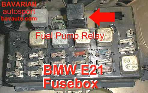 Bmw E21 Fuel Pump Relay 320i 320 6 323i Bavarian