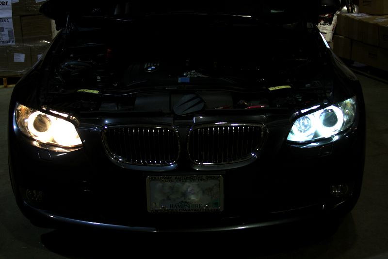 How To Hook Up An   And Sub To A Stock Stereo as well Two H7 XB Morimoto HID Bulbs furthermore Volkswagen Passat B8 Virtual Cockpit Retrofit Instrument Cluster Oem 3g0920798a together with Bmw Diy Angel Eye Led Bulb Upgrade Install How To E92 E93 And M3 3 Series also Fse. on bmw wiring harness 8