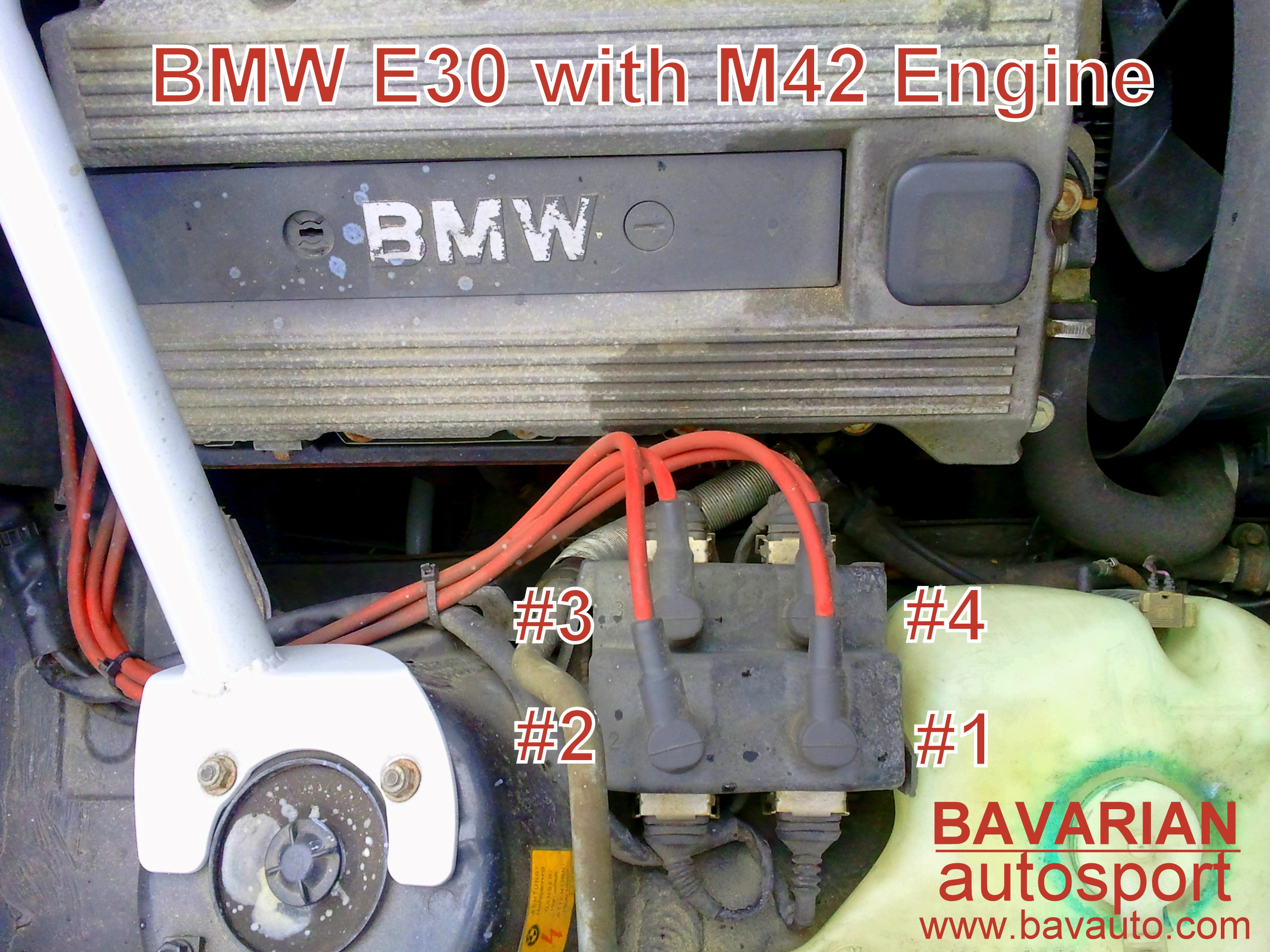 bmw 318i m42 coil pack spark plug wire and firing order 318is rh blog bavauto com M42 Engine Diagram All 95 318I Engine Diagram Hose