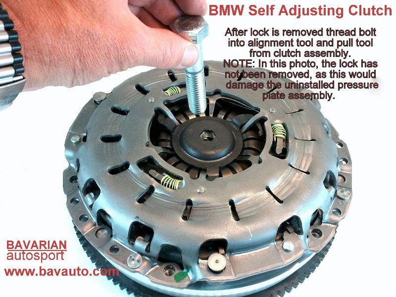 Bmw Self Adjusting Clutch Sac Diy How To Replace
