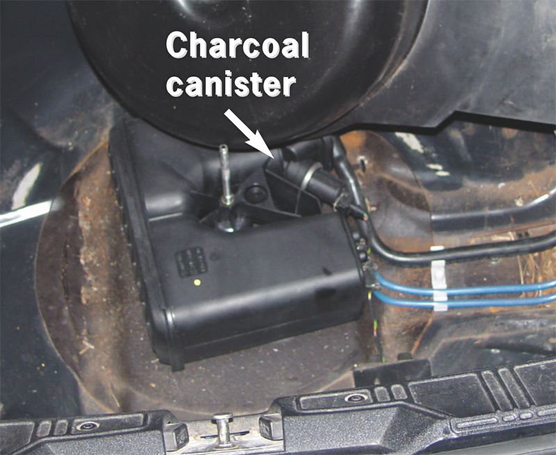 Bmw And Mini Fuel Vapor Recovery Systems Charcoal