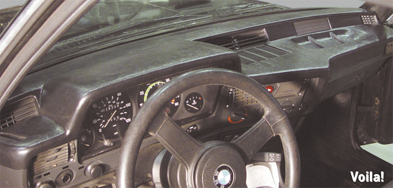 Bmw Cracked Dash Coverlay Dashboard Cover And Protection