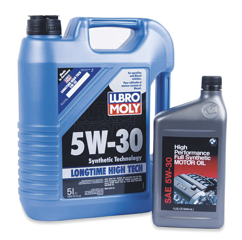 Bmw and mini vs liqui moly longlife motor oil 5w 30 for 5 30 motor oil