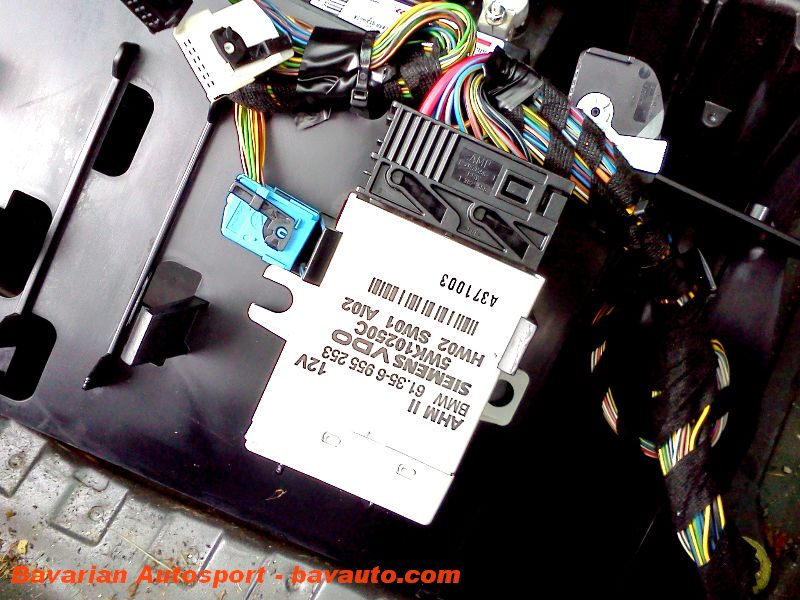 IMG_20120921_132108 bmw x5 e53 how to trailer lighting harness control module BMW Wiring Harness Chewed Up at nearapp.co