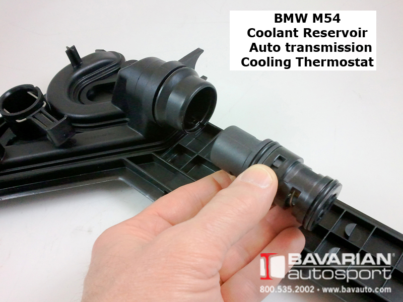 Bmw M54 6 Cylinder Coolant Thermostat For Automatic Transmission Broken How To Replace