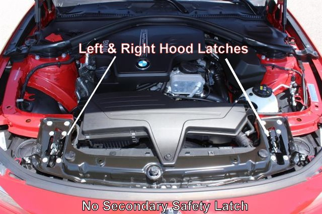 Help I Cant Open My Hood Bmw And Mini Double Pull Hood Release