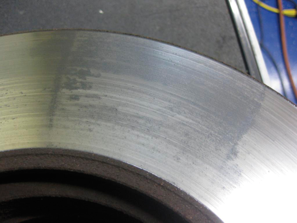 Brake Rotor Material : When should bmw and mini brake rotors disc be replaced
