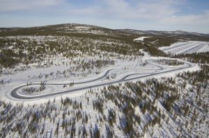 Nokian tires winter tire test track BAVauto