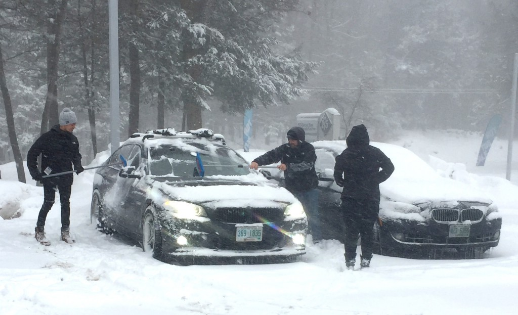 Use Sno Brum to clear heavy snow from your car quickly BAVAuto