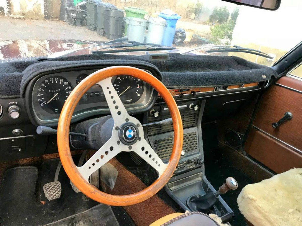 MOMO steering wheel on 1973 Bavaria  3.0  BAVauto