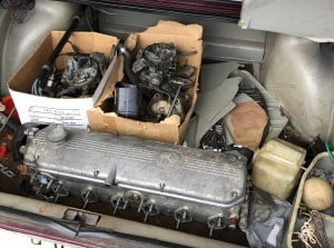 BMW Bavaria M30 Cylinder head and carbs BAVauto