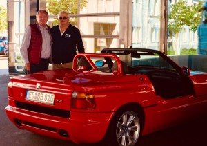 1991 BMW Z1 purchase day BAVauto
