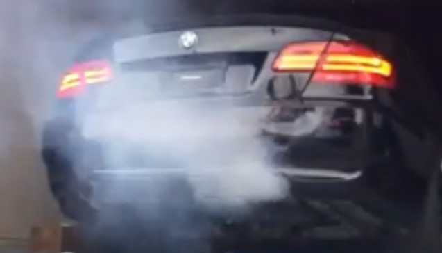 BMW N54 oil smoke how to fix