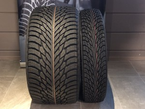 Which is best wide vs narrow snow tires BMW