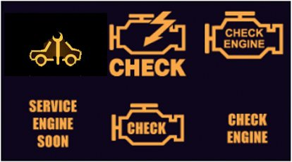 BMW OBD-II check engine light